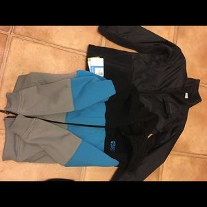 Boys jacket size medium (10/12) black nwt